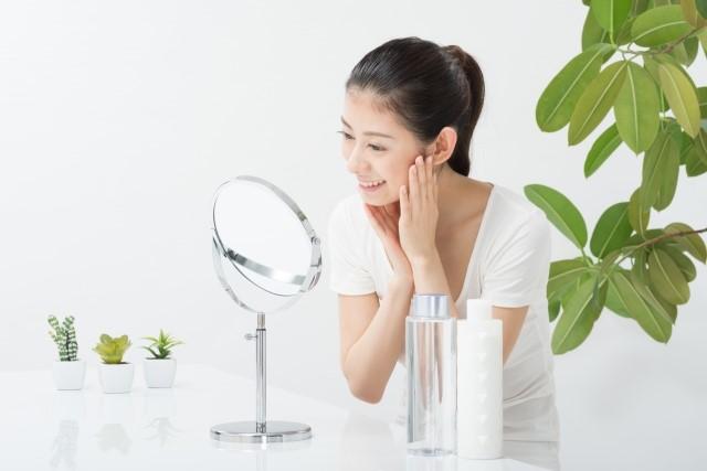化粧水をつける手順について